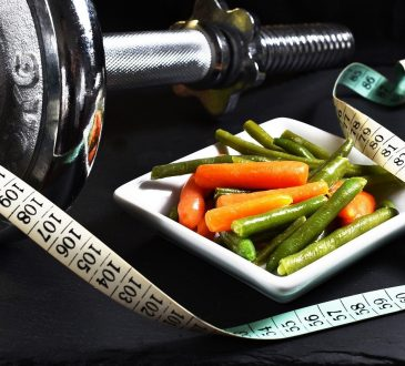 Fitness Dumbbell Vegetables Exercise Muscles