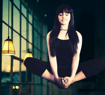 Meditation Woman Yoga Meditating Healthy