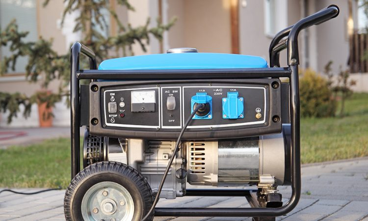 Generator at outside